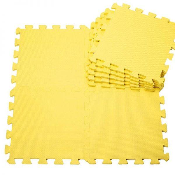 Covoras puzzle galben