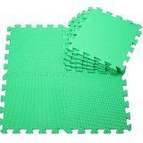 Covoras puzzle verde