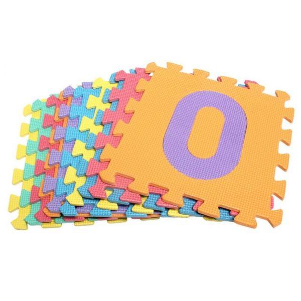 Covor puzzle cu cifre covoarecopii.ro